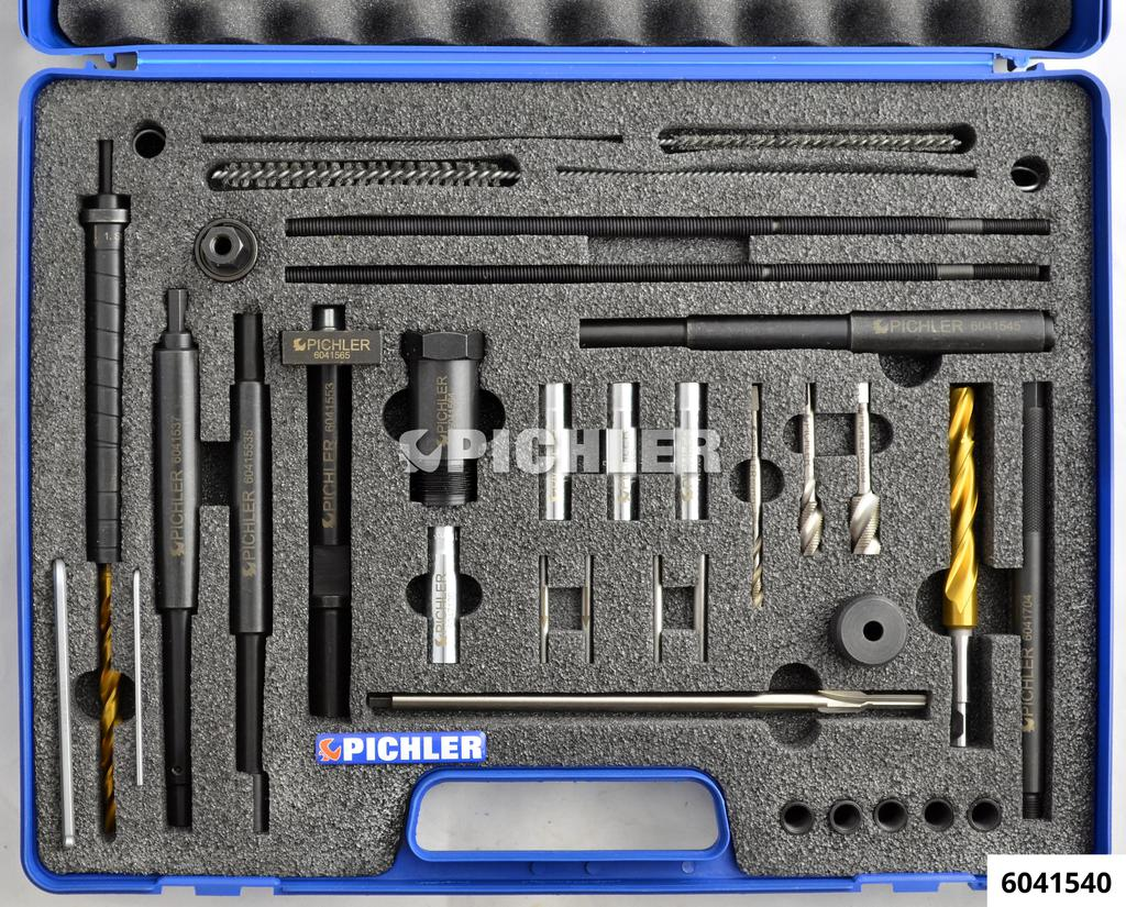 6041540: Ssang Yong Glow Plug Drill Out Kit for M10x1