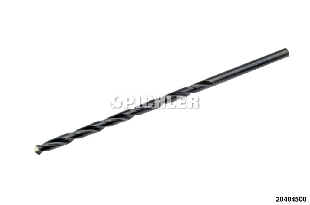 20404500: HSS Drill Bit long version Ø 4.5 mm DIN 340, precision ground