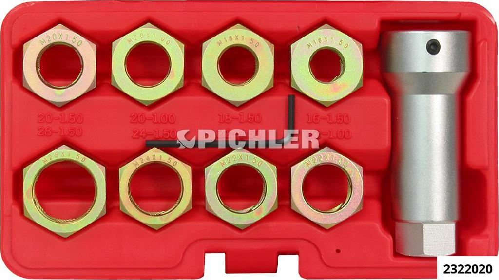 2322020: Axle Re-Thread Set 9PC.