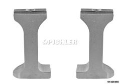 Griffes de rechange (1 paire) pour démontage roulements compacts VAG, Ford, Japonaises 4 goujons
