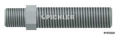 Adaptor M22/M24, 125 mm long
