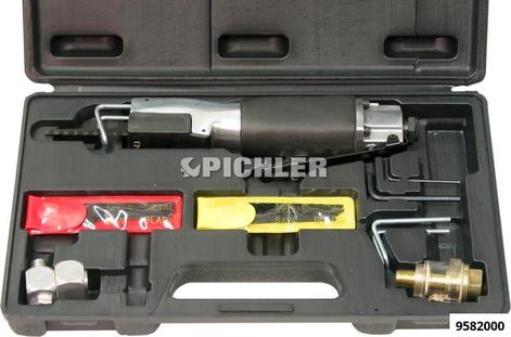 Druckluft-Karosseriesäge Set im Koffer mit Sägeblatt