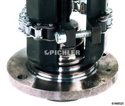 Radlager-Innenringabzieher Dreiarmabzieher m. Spindel 40-60 mm universal