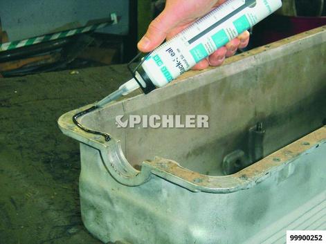 Black-Seal Kartusche 310 ml zum Abdichten von Flächen