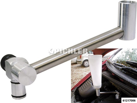 Motoröleinfüll-Winkelverlängerung für Trichter u. Adapter EFTW 01
