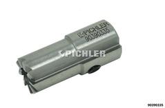 Injektorsitz-Fräser 180° mit Längsnut 15,0 mm : 17,0 mm Version II z.B. DELPHI-Injektoren