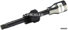 1/2 ..-drive 22 mm hexagon Socket insert XZN 10 x 135 mm