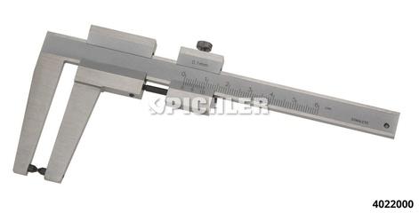 Brake disk slide gauge size 1 0-60 mm
