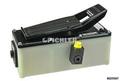 Lufthydraulische Fußpumpe 700 Bar ohne Schlauch, Anschluss  Modell Bell HP 700
