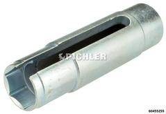 Douille pour sonde lambda 22mm entr. 1/2, longueur 110 mm diam. étagé pour p.ex: Ford Fiesta