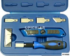 Scraper set 27 pcs with replaceable blades