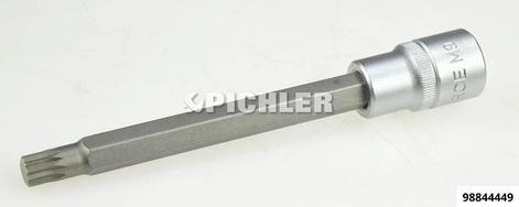 Steckschlüssel 1/2 Vielzahn XZN M9 Länge 140 mm
