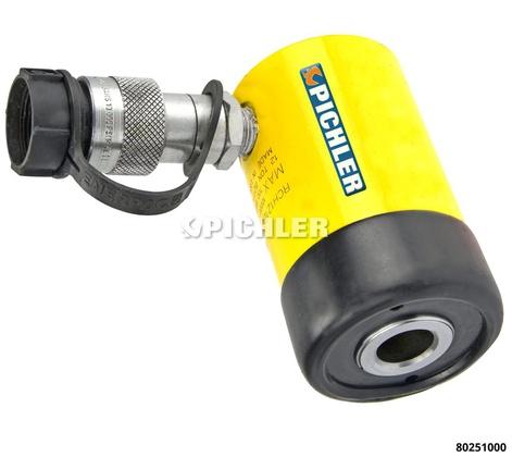 Hydraulische Hohlkolbenzylinder 12t Mod.338, Hub 42mm