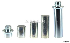 Thrust Rod Set M30 Ø 38 mm for using the Hub Puller for Trucks and Busses with the 45 tons Hydraulic Cylinder