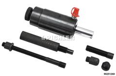 Hydraulic Cylinder 22 ton, Hammering Head  Adjustable Press Rod 92mm, M24