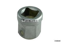 Repousseur étrier de frein Embout Réception SW12/8mm 4 pans