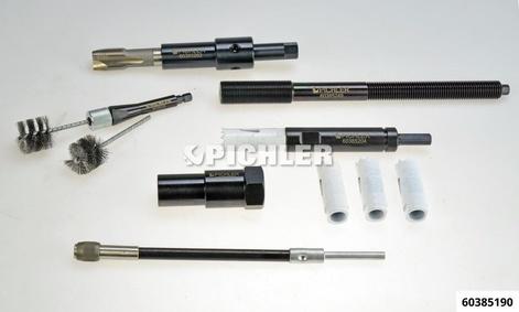 Ergänzung zu Injektor Demontagesatz Mod.M9R, mit Bürsten für Renault M9R / M9T