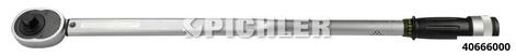 """Drehmomentschlüssel A 3/4"""" 100-500 Nm mit akustischer und fühlbarer Anzeige"""