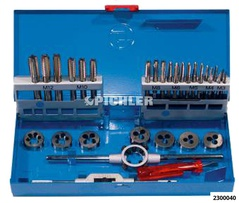 Tap and die set 4 M3-M12