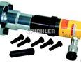 """Adapter komplett für Hydr. Zylinder(80251000) in Flansch von 1 1/2""""16G auf 2 6/8""""16G"""