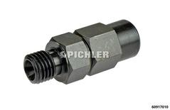Verbindungsadatper IG 12x1,5 auf AG 12 x 1,5 (mit Ventil) Verbindung mit Ventil für z.B. 6092 mit 60916000