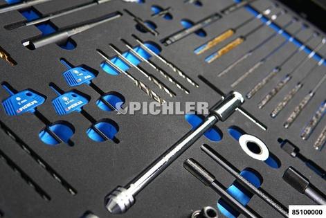 PICHLER ENGINE SERVICE TOOL BOX kompl. bestückt mit 6 Modulen