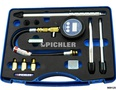 Kompressionsdruck Prüfgerät Mod.DIGI Digitalmanometer 0-300 PSI/20 BAR/KPA 7 Adapter zum Benzindruck prüfen