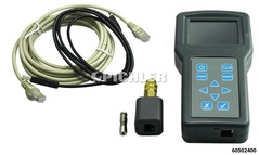 Particle filter-pressure tester 0-1000 mbar