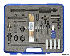 Injector removal, injector sleeve and sealing ring fitting tool PSA DV6