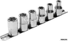 Torx-Plus EP/EPL-Style Steckschlüssel Satz 6-tlg. 10 EPL bis 20 EPL Zolltarifnummer 8204 4000