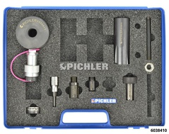 Injector Removal Set CDI lll, with Hydraulic Hollow Piston Cylinder 12t without Complementary Support Elements 4 pcs