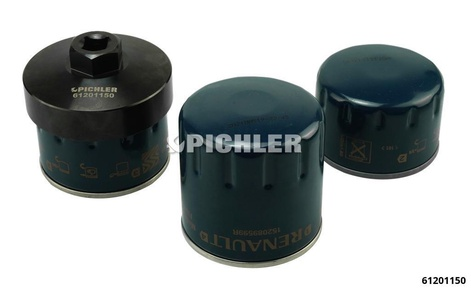 Oil Filter Socket 76mm/12 Flutes Drive 3/8
