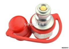 Raccord Hydraul. Baillonnet côté cylindre 3/8 NPT FEM pour branchement Cylindre ENERPAC par ex avec Pompe WALLMEK