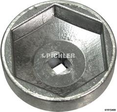 Filterglocke Mod.HF SW 45,5 Antr.3/8 De-/Montage vom Deckel des AD-Blue Filter