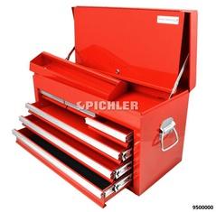 Caisse à outils 6 tiroirs, fermeture centrale H 376 x l 663 x h 307
