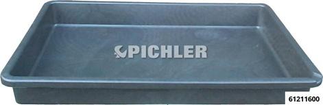 Auffangwanne extra flach Volumen 45 Liter, 880x600x100 mm