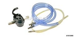 Extraction Ratchet Pump with 3/8 Drive for actuation by e.g. compressed air gun or cordless screwdriver