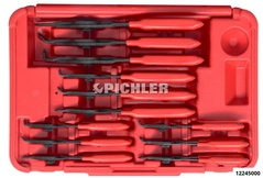 Circlip pliers set 12 pcs in a plastic case