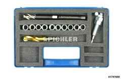 TOOL KIT FOR REPLACING DAMAGED THREAD M14 x 1.5 BMW E38 & E39 (X3, X4, X5, X6) of the shock absorber fitting on the lower wishbon BMW X-Modelle X3, X4, X5, X6