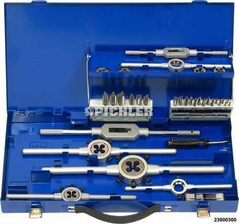 Handgewindebohrer Kassette M3-M12 HSS-G DIN 35-tlg. AKTION!!!
