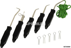 Windshield assembly equipment 5 pcs.