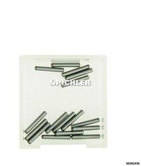 Ersatzspitzen f. Zerlegeschlüssel VPE 20 Zylinderstift ø1,5x10mm DIN6325 / Tol. m6, St. geh.