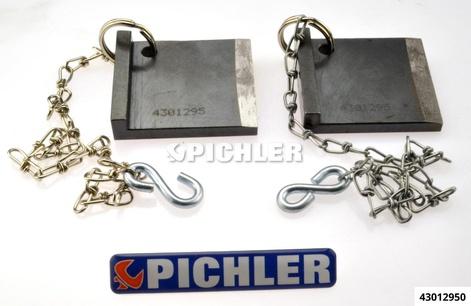 Nockenwellen-Fixierwerkzeug 2-teilig mit Haltekette Audi, VW 2,5 Tdi V6