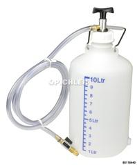 Befüllgerät 10 lt. mit Pumpe und Schlauch, ohne Adapter