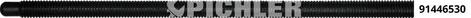 Spindel M 14 für 9144650 Regelgewinde Qualität 12.9 ohne Mutter und ohne Lager Steigung 2,0