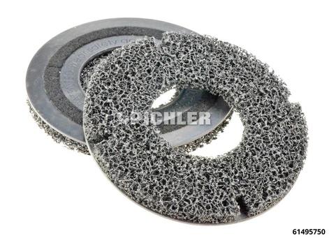 Reinigungsscheibenset 2-tlg Entrosten der PKW-Radnaben U/min max 1500, drm. 200 mm Gr. 2 (Ø 200)