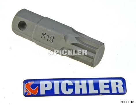 Bit-Einsatz XZN 18 Aufnahme 16 mm