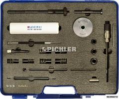 Reinigungsfräser-Set komplett Halter, Fräser 17,0mm, Bürsten, Dichtringauszieher, Hammer, Kühlschmierfett im Koffer