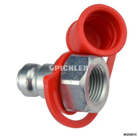 Hydraulik-Bajonettstecker CEJN Zylinderseite 3/8 NPT Innengew.zur Verbindung vo ENERPAC Zylindern m. WALLMEK Pumpen