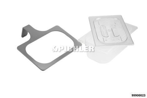MODUL 2: Halter für Schutzmasken pulverbeschichtet in grau